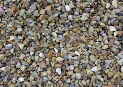 #1 Brown Gravel. The perfect stone for your landscaping needs!