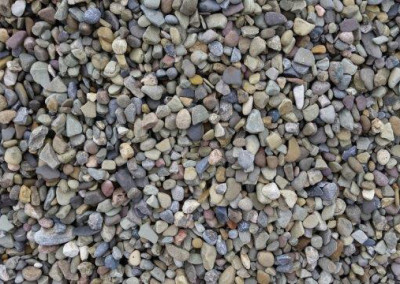 #1 Freedom Grey Gravel. Perfect stone for your landscaping needs!