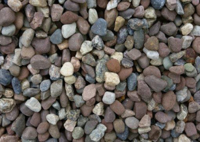 #1 Red Gravel. Beautiful Round Gravel with very nice color. Best Bang for your Buck!