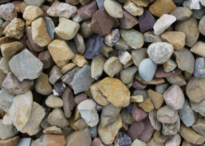 #2 Brown Gravel. Perfect stone for your landscaping needs!