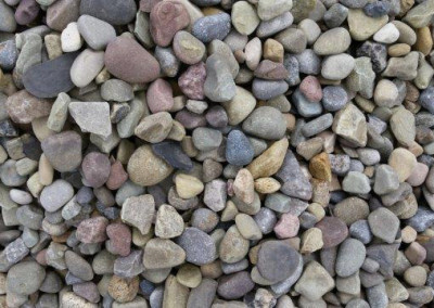 #2 Freedom Grey Gravel. Perfect stone for your landscaping needs!