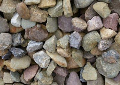 #3 Brown Gravel. Perfect stone for your landscaping needs!