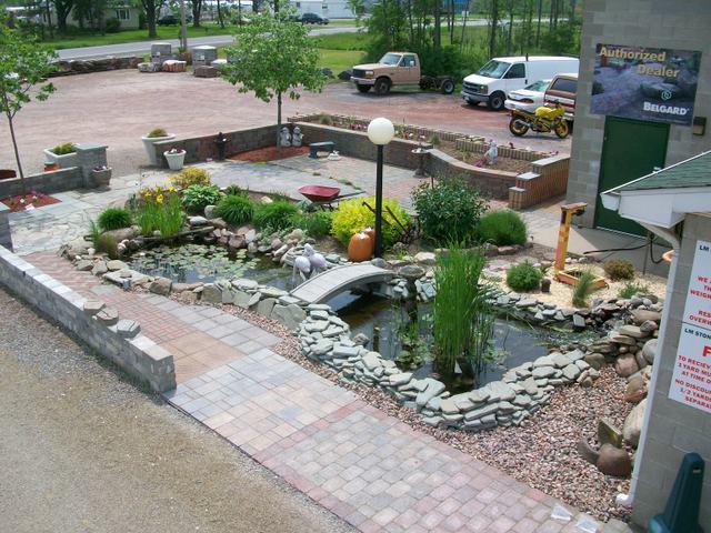 Garden Ponds LM Stone