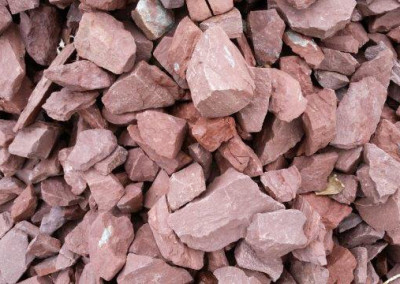 Tipple Red Tailings. Perfect stone for your landscaping needs!